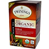 Twinings of London Organic Chai Tea, 20 Count