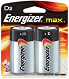 12 Pack Energizer E95BP-2 D Cell Alkaline Batteries 2 Batteries per Package