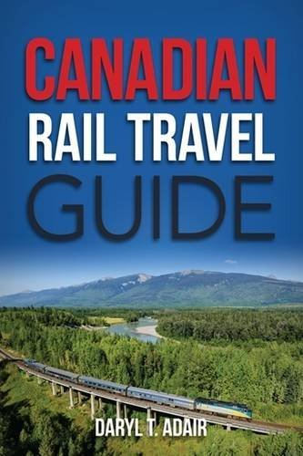 Trans Map - Canadian Rail Travel Guide