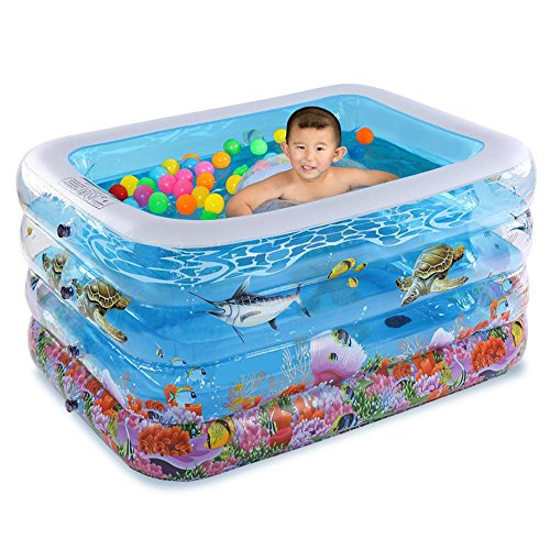 TOYM US Baby Swimming Pool Inflatable Baby Infantry Baby Bath Tub ( Color : Small ) by Folding Bathtub
