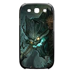 Maokai-004 League of Legends LoL case cover Iphone 4/4S Plastic Black
