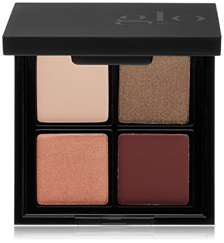 Glo Skin Beauty Eye Shadow Quad in Rebel Angel - Rich Plums | Eyeshadow Palette Kit | 4 Colors in 5 Shade Options