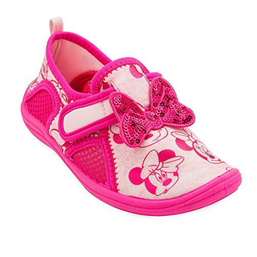 Disney Minnie Mouse Pink Swim Shoes for Kids Size 6 Toddler Multi ()