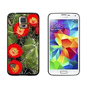New Style Claret Cup Cactus Cacti - Southwest - Snap On Hard Protective Case for Samsung Galaxy S5 - Black