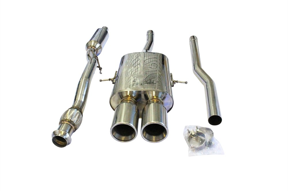 CNT 2.5 Catback Exhaust System for 07-09 Mini Cooper R56 S 12 Coupe R58