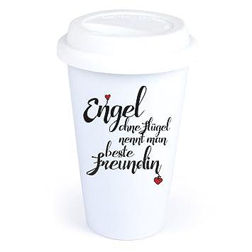 Coffee To Go Becher Mit Spruch Engel Ohne Flugel Nennt Man Beste