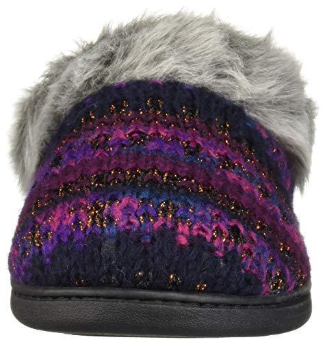 Dearfoams Women's Peacoat Slipper Wide Width Knit Clog rUYwXrdqx