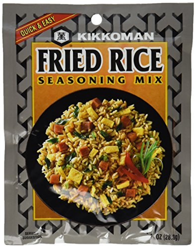 Kikkoman Fried Rice Seasoning Mix, 1-ounce Pack (Pack of - Fried Egg Rice
