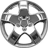 """OxGord WCKT-998-14-CH Wheel Cover/Hub Cap, Chrome/Lacquer, 14"""""""