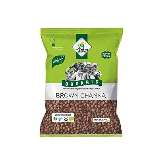 24 Mantra Organic Brown Chana, 500g