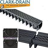Clark Drain CLKS 422/96 DOMESTIC MESH drainage CHANNEL & GRATING 1 METRE LENGTH