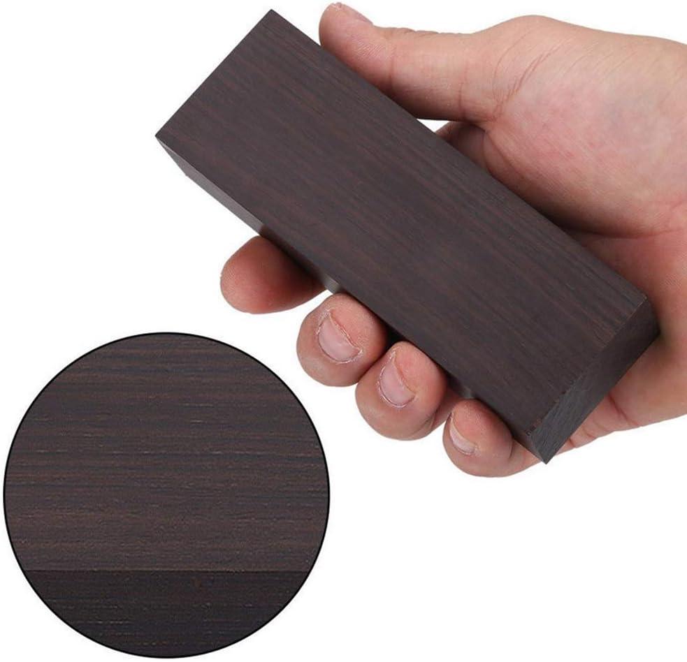 Schwarz Ebenholz Tonholz Holz Block Handwerk Hobby Blackwood DIY Tool Holzgriff