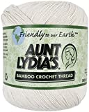 Coats Crochet Aunt Lydia's Bamboo Crochet, Thread Size 10, Natural