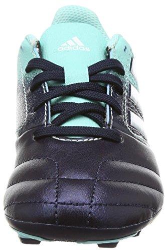 adidas Unisex-Kinder Ace 17.4 FxG J Fußballschuhe Mehrfarbig (Energy Aqua /ftwr White/legend Ink )
