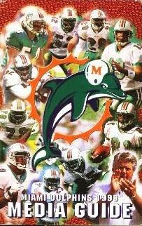 MIAMI DOLPHINS 1999 MEDIA - Dolphin Miami Outlet