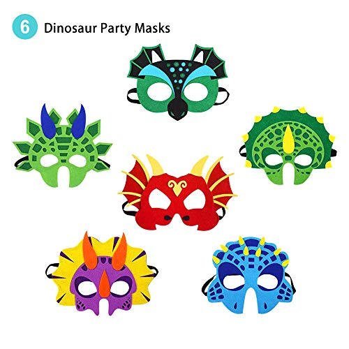 Flying Childhood Dragon Masks for Kids Party, Dinosaur Costume Toddler Boys Birthday Dress up -