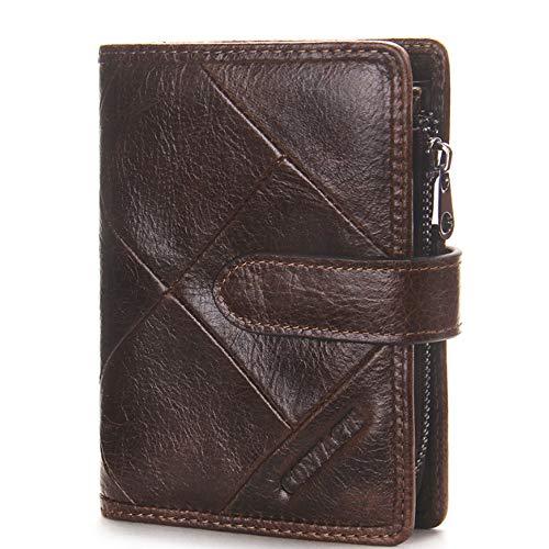 Pour Hommes Brown Porte S Cuir Brown monnaie En color Size 1W7qBt7