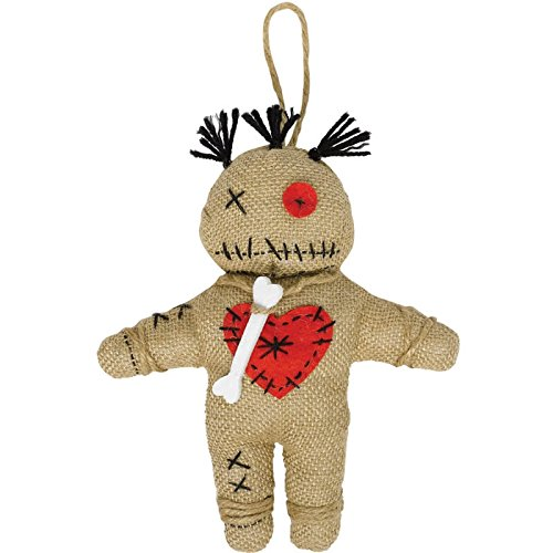 Amscan Witch Doctor Voodoo Doll Party Accessory (Voodoo Witch Doctor Halloween Costumes)
