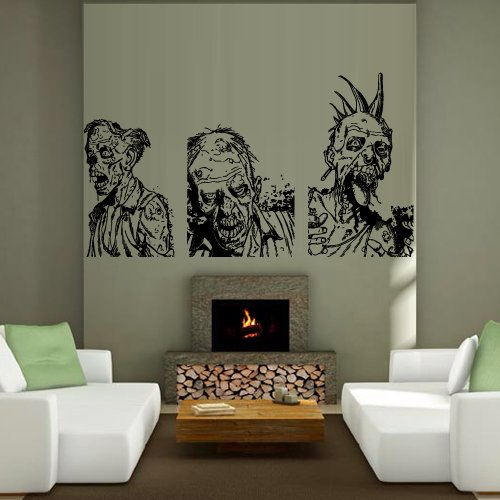 Exceptional Wall Decal Mummy Zombie Horror Fear Dead Myth Character Corpse Bedroom M1244