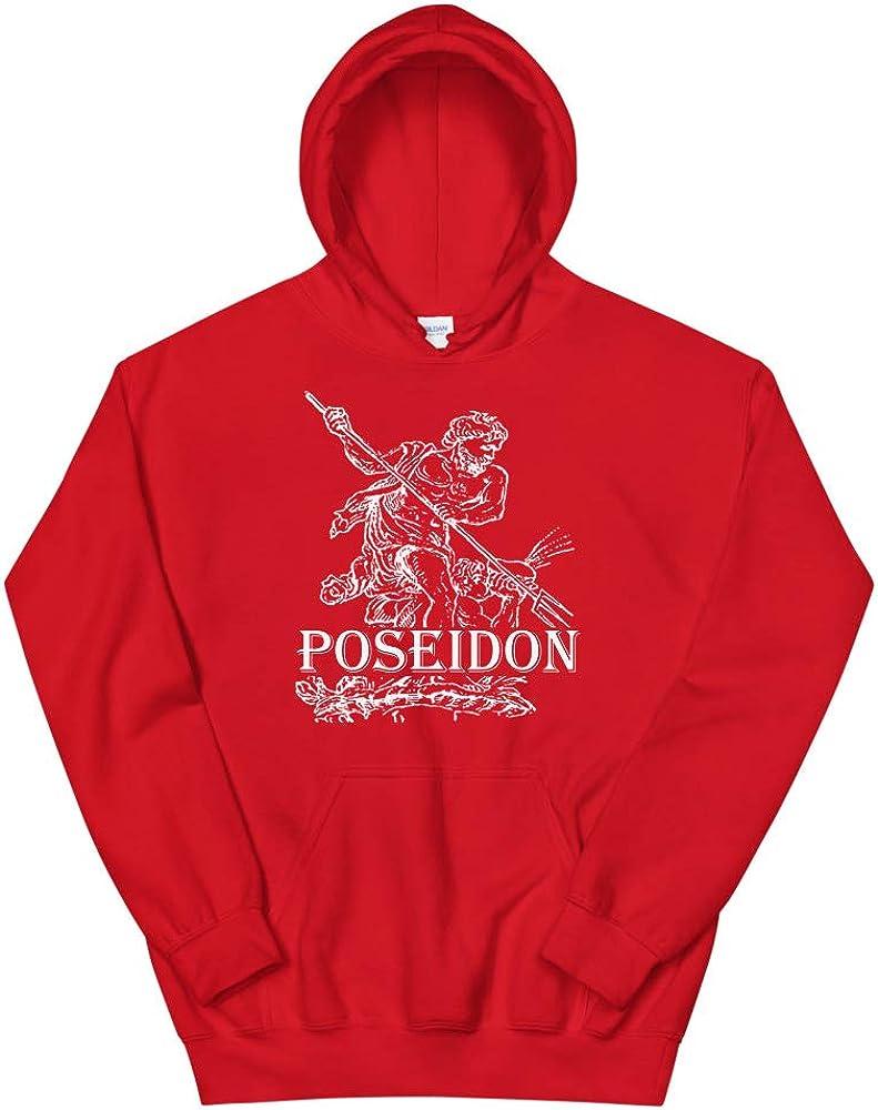 TrenderMaster Poseidon Greek Mythology Pullover Hoodie