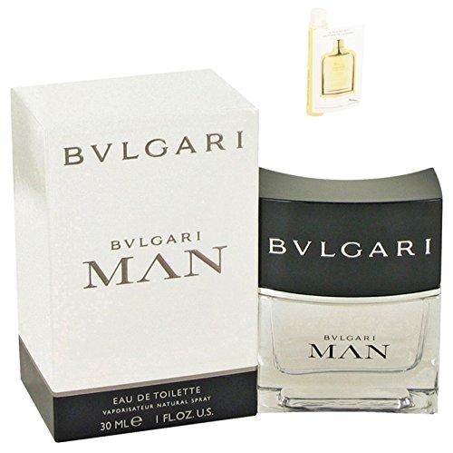 - Bvlgari Man Cologne For Men Eau De Toilette Spray 1 oz.30 ml. + Free! Sample Jaguar Classic Gold Cologne 0.05 oz Vial