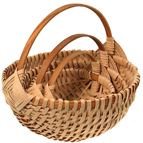 Nested Set of Melon Basket Weaving Kits by V.I. Reed & Cane, Inc.