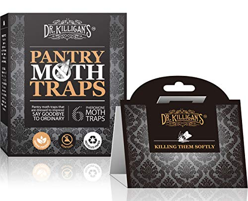 Dr. Killigan's Premium Pantry Moth Traps with...