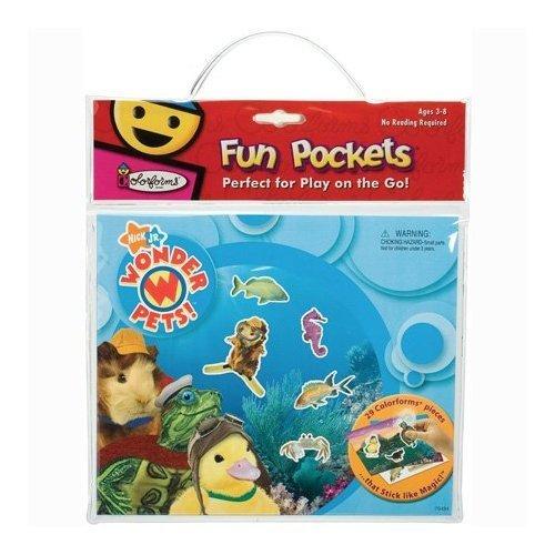 Colorforms Wonder Pets Fun Pocket