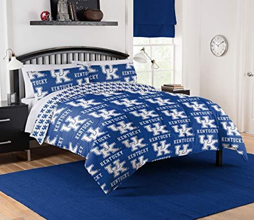 Northwest NCAA Kentucky Wildcats Queen Bed in Bag Set #569293962