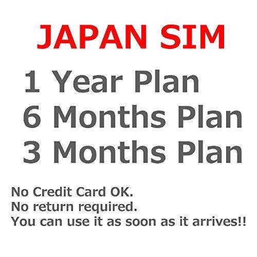 Amazon.com: Japón SIM/Japón SIM/de viaje Prepago Plan/LTE ...