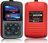 Universal Diagnostic Code Fault Scan Tool iCarsoft i810 OBD2 / EOBD Engine Code Scanner BMW Chrysler Chevrolet Jaguar Land Rover Porsche Volvo VW and more