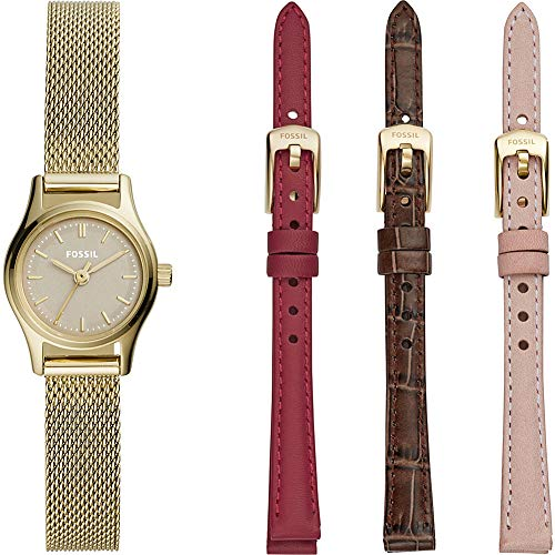 Fossil Women's Estate Mini Watch Set - LE1050 Gold One Size