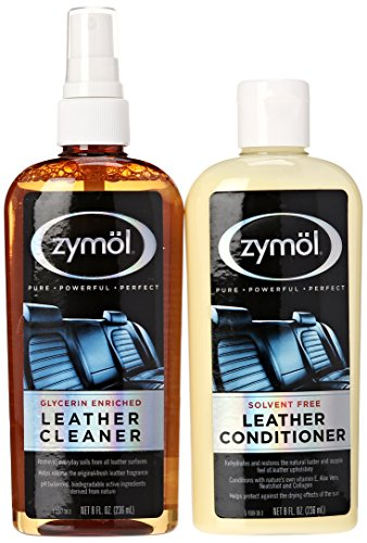 Zymol Leather Cleaner (Zymol Z-507 Leather Cleaner and Z-509 Leather Conditioner (8 Ounce Each))