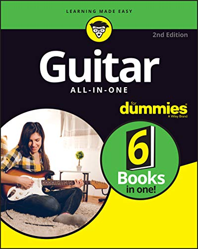 Book Cover: Guitar All-in-One For Dummies: Book   Online Video and Audio Instruction
