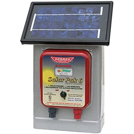 side facing parmak df-sp-li solar electric fence charger