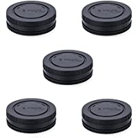 Rear Lens Cap & Body Cap JJC Rear Lens Cover Body Cover...