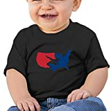 Sfjgbfjs Baby T-Shirt Cool USA Map Wrestling Baseball Pattern Soft and Cozy Infant T-Shirt