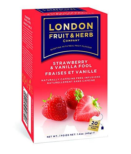 London Fruit & Herb Tea Bag Strawberry & vanilla Frere 20 bags
