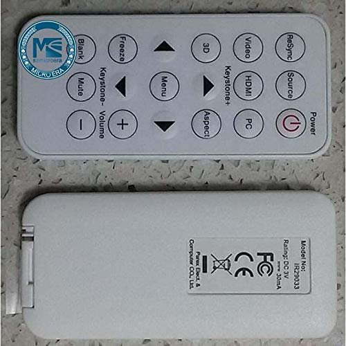 Calvas Projector remote control for Optoma W307UST X307UST W317USTi controller by Calvas