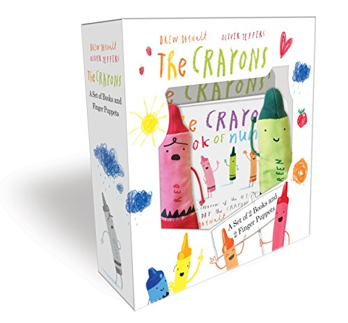 The Crayons: A Set of Books and Finger (Crayon Counting Book)
