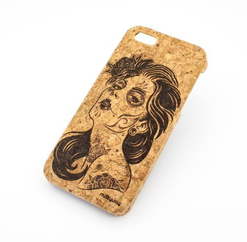 Cork Case Snap On Cover skin for Apple IPHONE 6PLUS (5.5