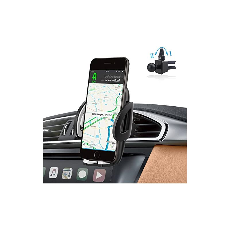 Air Vent Phone Holder Car Mount with Qui