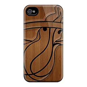 Scratch Resistant Cell-phone Hard Cover For Iphone 6 With Customized High Resolution Miami Heat Pictures MansourMurray
