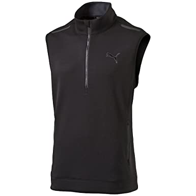 PUMA Pwrwarm Knit Golf Vest 2016 Puma Black Small
