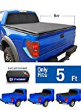Tyger Auto TG-BC1C9012 TOPRO Roll Up Truck Bed Tonneau Cover 2015-2018 Chevy Colorado/GMC Canyon | Fleetside 5' Bed
