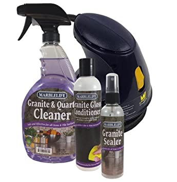 Marblelife Granite Countertop Cleaning Kit With Buffer (GQC 41110)  (GGC 41130