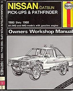 Nissan / Datsun Pick-up, '80-'97 & Pathfinder, '87-'95