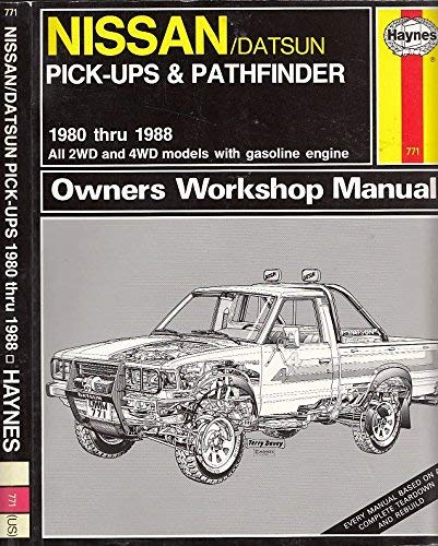 Price comparison product image Nissan pick-ups owners workshop manual (Haynes owners manual series)