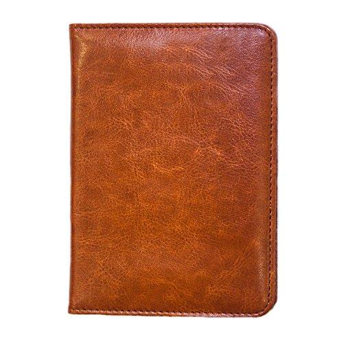 Leather Passport Holder – Sleek, Slim & Stylish – Easy ...