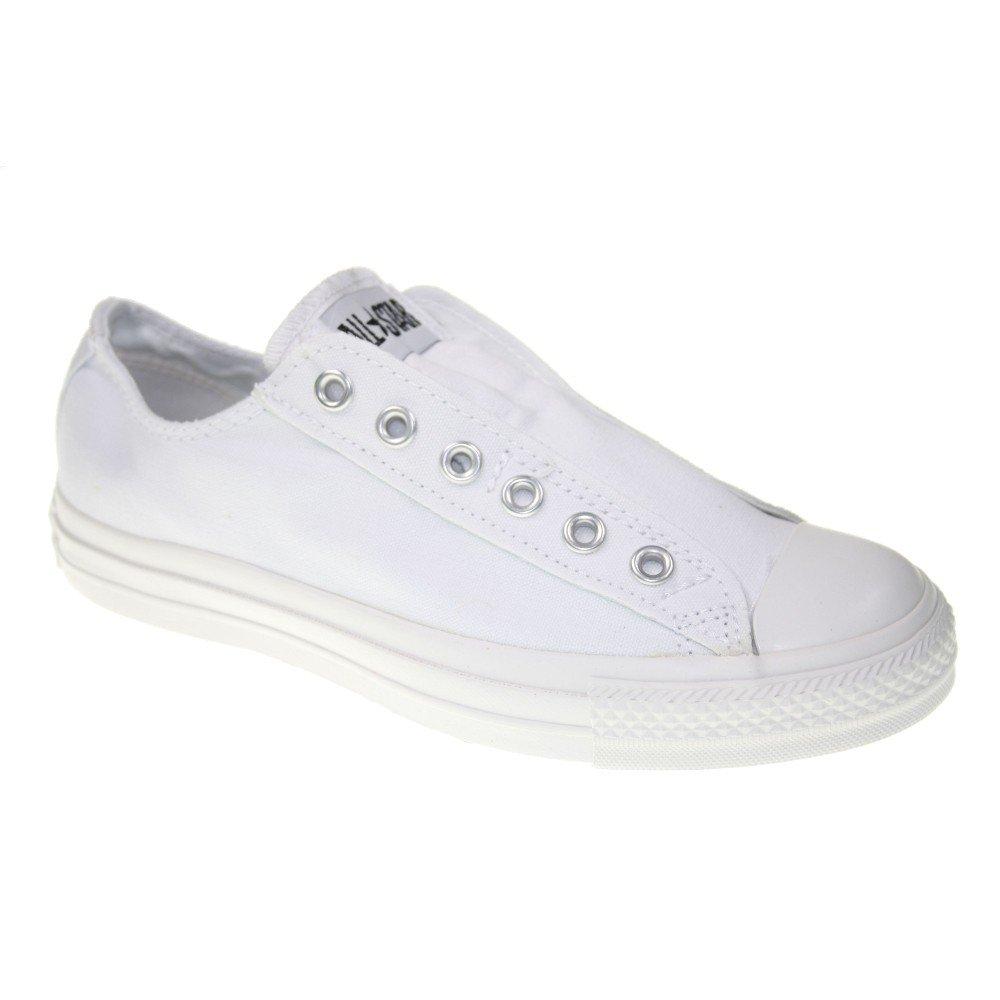 Converse All Star Chucks Slip Slipper:107935 Gr.44, 5, Weiss